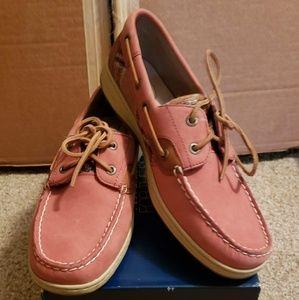 Women's Sperry Topsiders Boat Shoes 9.5 M